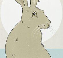 Golden Hare No.1 by Stu  Jones