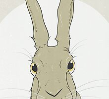 Golden Hare No.2 by Stu  Jones