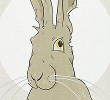 Golden Hare No.3 by Stu  Jones
