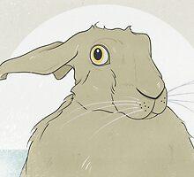 Golden Hare No.8 by Stu  Jones