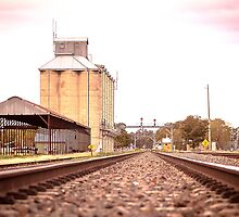 silo's on track by outbacksnaps