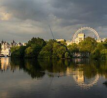 London - Illuminated and Reflected by Georgia Mizuleva