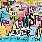Tatoos New Doctor Frankenstain Monster - Where Are Your Wings America. by AndGoszcz
