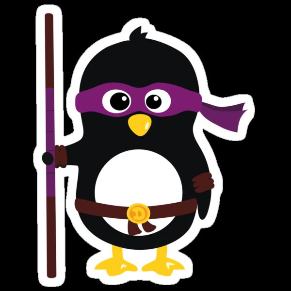 Penguin Ninja Donatello by Arpsara