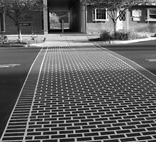 Crosswalk in Geneva, New York by Muzikgal