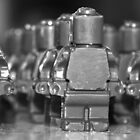 Lego Soldiers by Tony Waite