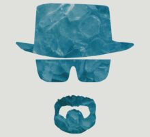 Walter White Blue Crystal Meth by DCVisualArts