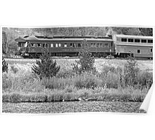 Cyrus K  Holliday Private Rail Car BW Poster