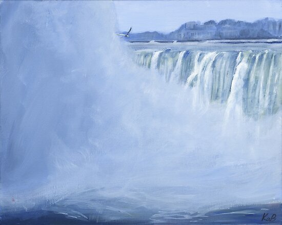 Winter Falls by Keri Buckland