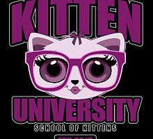 Kitten University - Purple 2 by Adamzworld