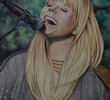 The beautiful and talented Grace Potter by ArtGecko