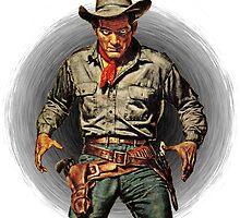Classic Gunslinger by sashakeen
