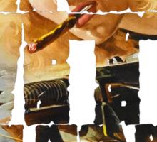 Girls With Guns Logo Sticker