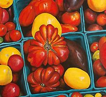 Heirloom Tomatoes, Grand Central Market by Keri Buckland