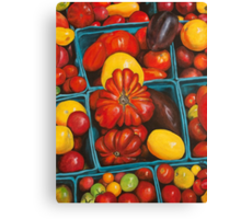 Heirloom Tomatoes, Grand Central Market Canvas Print