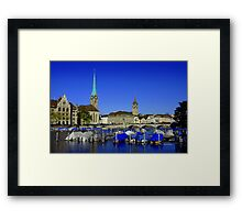 Limmat River Framed Print