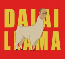 The Dalai Llama by enfeder