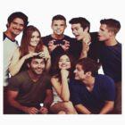 Teen Wolf Cast by Deborah Hwang