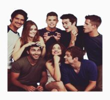 Teen Wolf Cast by Deborah Hwang