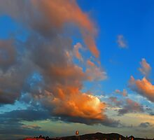 ©HCS The Orange Glow In Cumulus by OmarHernandez