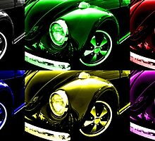Warholesque Beetle by Andrew Pounder