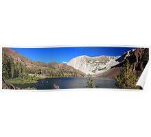 High elevation lake Poster