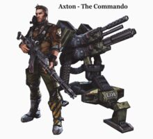 Borderlands 2 - Axton The Commando by OkaNieba