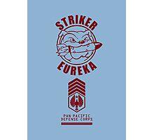 Striker Eureka (Red) Photographic Print