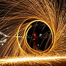 Lightpainting #2 by Peter Gray