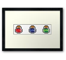 What's your poison? Framed Print