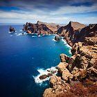 Cliffs of Near Canical (Ponta de Sao Lorenco), Madeira by Zoltán Duray