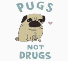 Pugs Not Drugs by Deborah Hwang