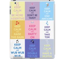 Keep Calm and Have a Pony iPad Case/Skin