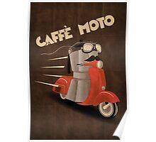 Caffè Moto Poster