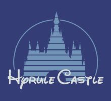 Hyrule Castle by mormonprints