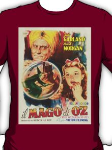 Italian poster of The Wizard of Oz T-Shirt