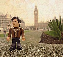 Dr Who at Big Ben by Tim Constable