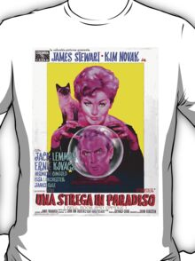 Italian Poster of Bell Book and Candle T-Shirt