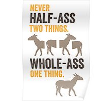 RON SWANSON Quote#2 Poster