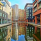Paddington Basin, London. by Tim Constable