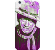 John Wayne in The Man Who Shot Liberty Valance iPhone Case/Skin