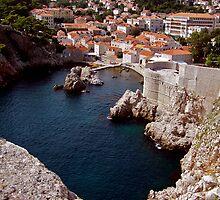 Dubrovnik, Croatia by Nancy Richard