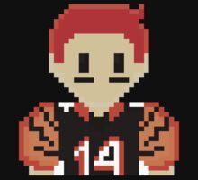 8Bit Andy Dalton NFL by CrissChords