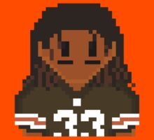 8Bit Trent Richardson NFL by CrissChords