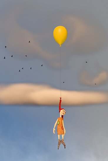 The Rag Doll and The Yellow Balloon by Liam Liberty
