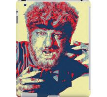 Lon Chaney, Jr in The Wolf Man iPad Case/Skin