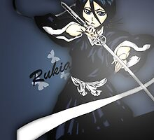 Bleach - Rukia Case [Butterfly] by Susanwolf
