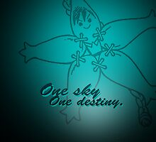 Kingdom Hearts - One Sky, One Destiny Case by Susanwolf