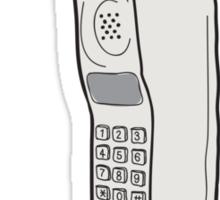 Retro Mobile Sticker