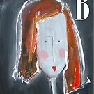 B - from Alphabet Gal collection by Joanie Springer